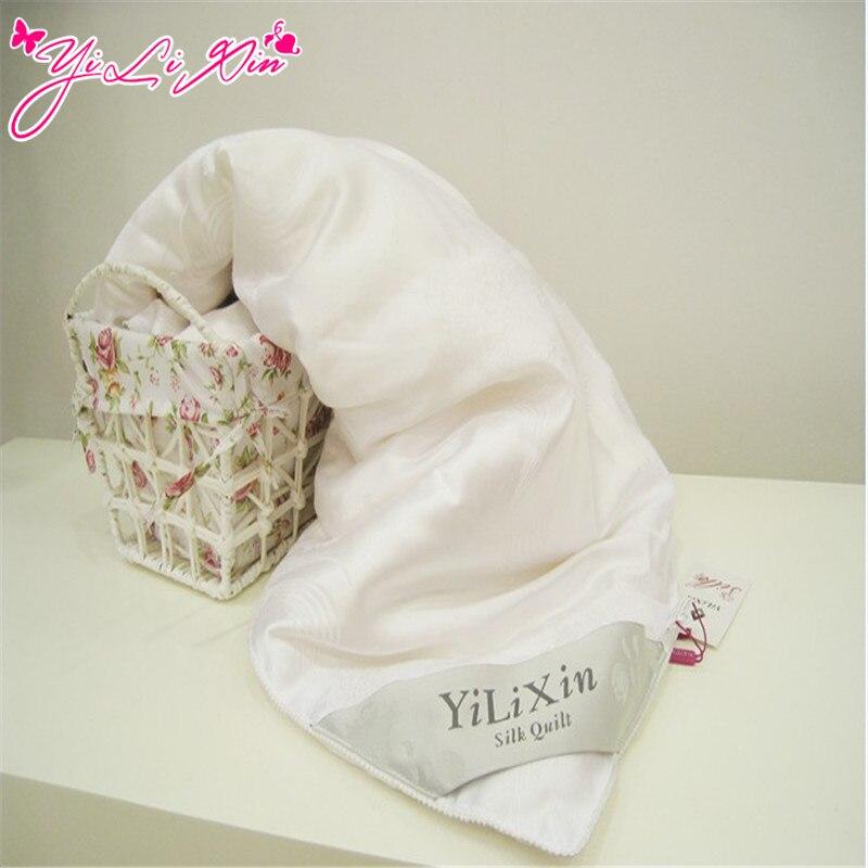 100% hedvábný přikrývka / deka / přikrývka / peřina pro letní a zimní přikrývku bílou deku # YLX172-1500
