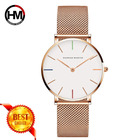 High Quality Japan Quartz Movement DW Watch Style Women Watch Stainless Steel Rose Gold Waterproof Ladies Watch Dropshipping