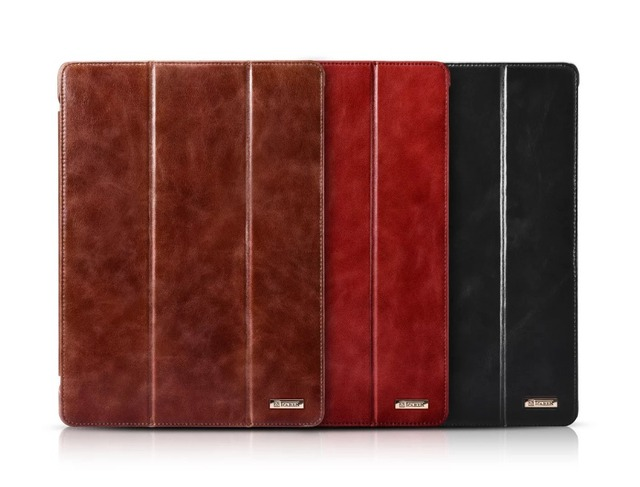 For iPad Pro Retro Series 12.9-inch or 9.7 inch, leather holster, protective cover free shipping