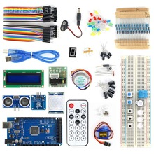 OPEN-SMART MEGA2560 BreadBoard Advance Kit with Sensors / Servo Motor / LCD Display / Tutorial for Arduino