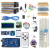 OPEN SMART MEGA2560 BreadBoard Advance Kit With Sensors Servo Motor LCD Display Tutorial For Arduino