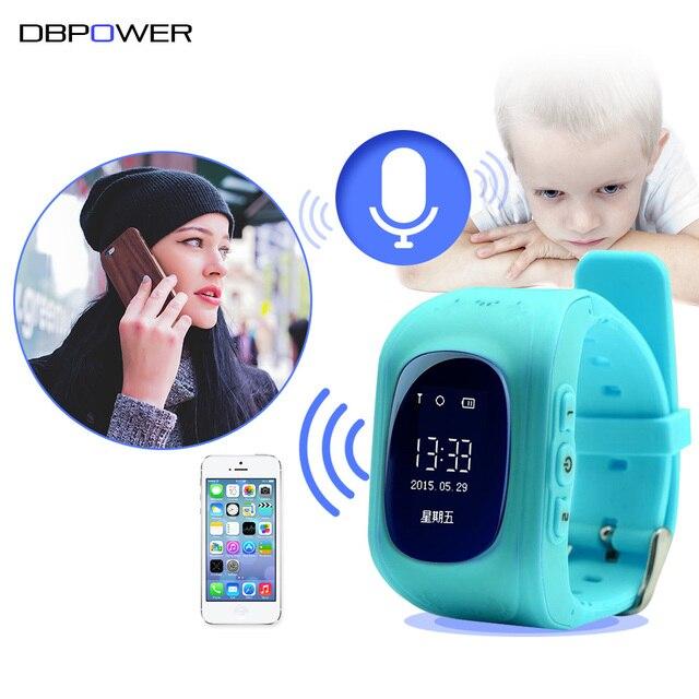 Анти потерял Q50 ЖК-дисплей/OLED ребенок GPS трекер малыш безопасной Смарт часы SOS вызова Расположение Finder Locator Tracker для детские наручные часы