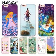 MaiYaCa Alice In Wonderland Retro Movie for Apple iPhone 8 7 6 6S Plus X 5  5S SE eb9709a1c76f