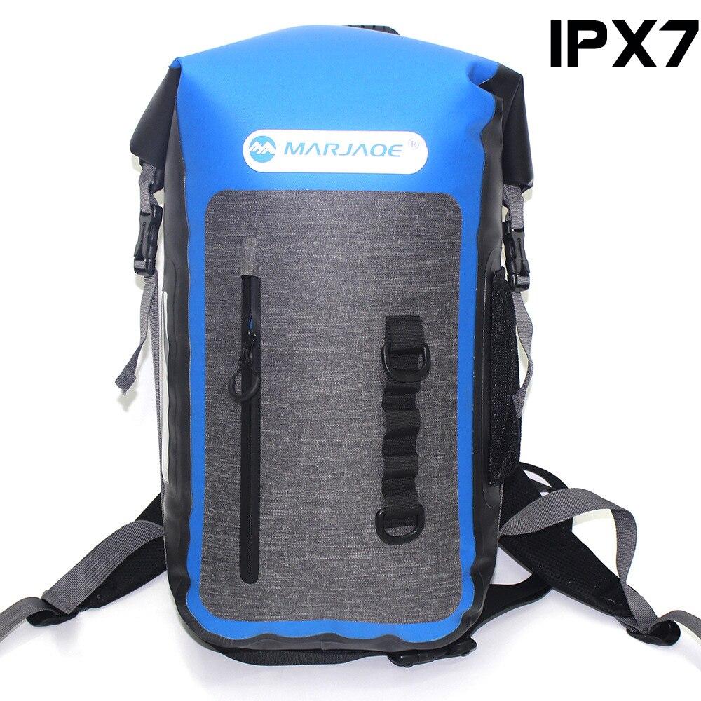 Date Super imperméable à l'eau en plein air voyage sac à dos 25L Rafting randonnée Camping alpinisme sac à dos Cave exploration sac à dos 900g