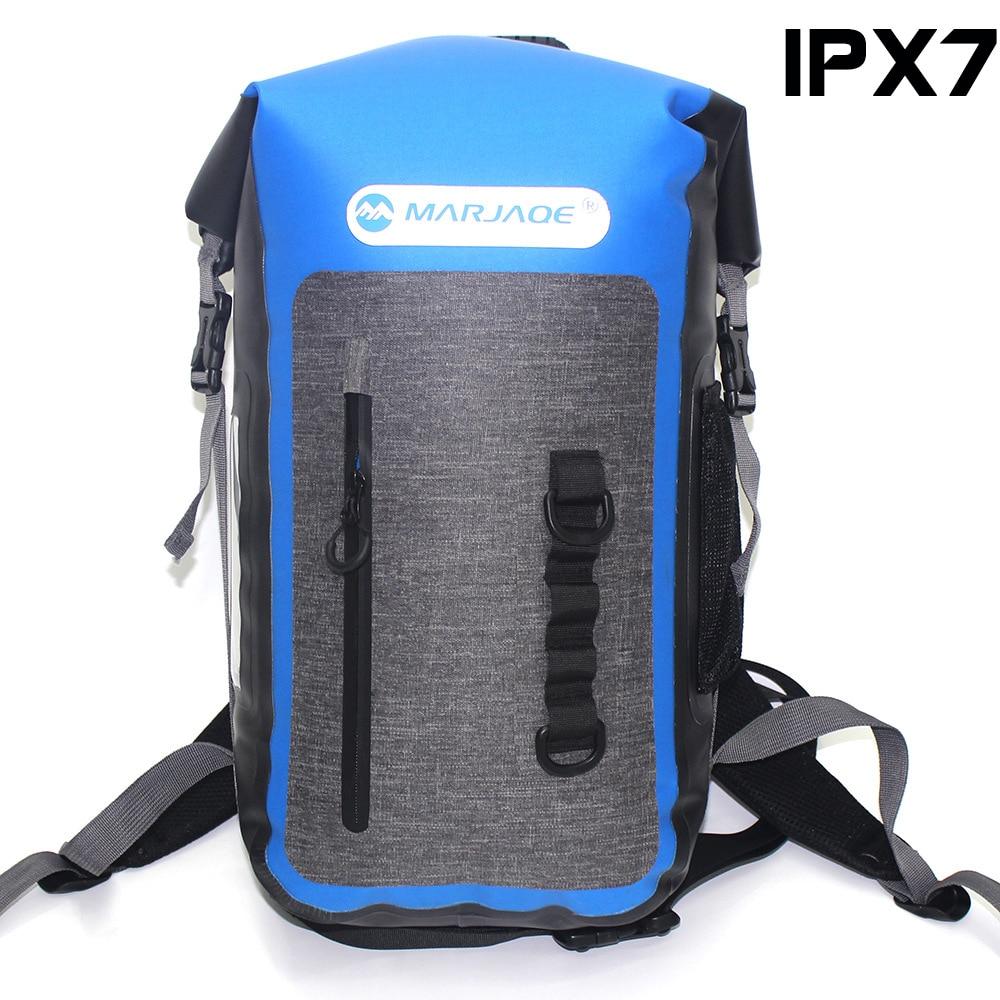 Newest Super Waterproof Outdoor Travel Backpack 25L Rafting Hiking Camping Mountaineering Daypack Cave Exploring Rucksack 900g цены онлайн