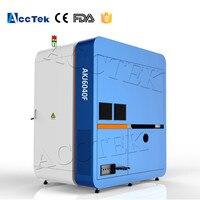 High precision small fiber laser cnc cutter AKJ6040F with 500w cnc laser cutting machine for metal