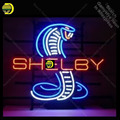Неоновая неоновая лампа SHELB со змеиным узором  стеклянная трубка  неоновые огни для отдыха  гаража  профессиональный знак  рекламная вывеска...