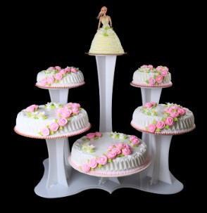 wedding cake cupcake pan 6 layers acrylic cake display cake pan 2016 8603