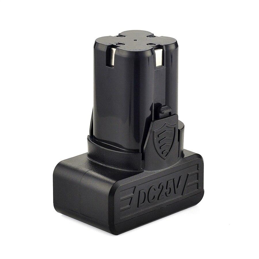 Image 5 - YIKODA 25 В аккумуляторная электрическая дрель перезаряжаемая литиевая батарея двойная скорость электрическая отвертка бытовые электроинструменты-in Электрические сверла from Инструменты on