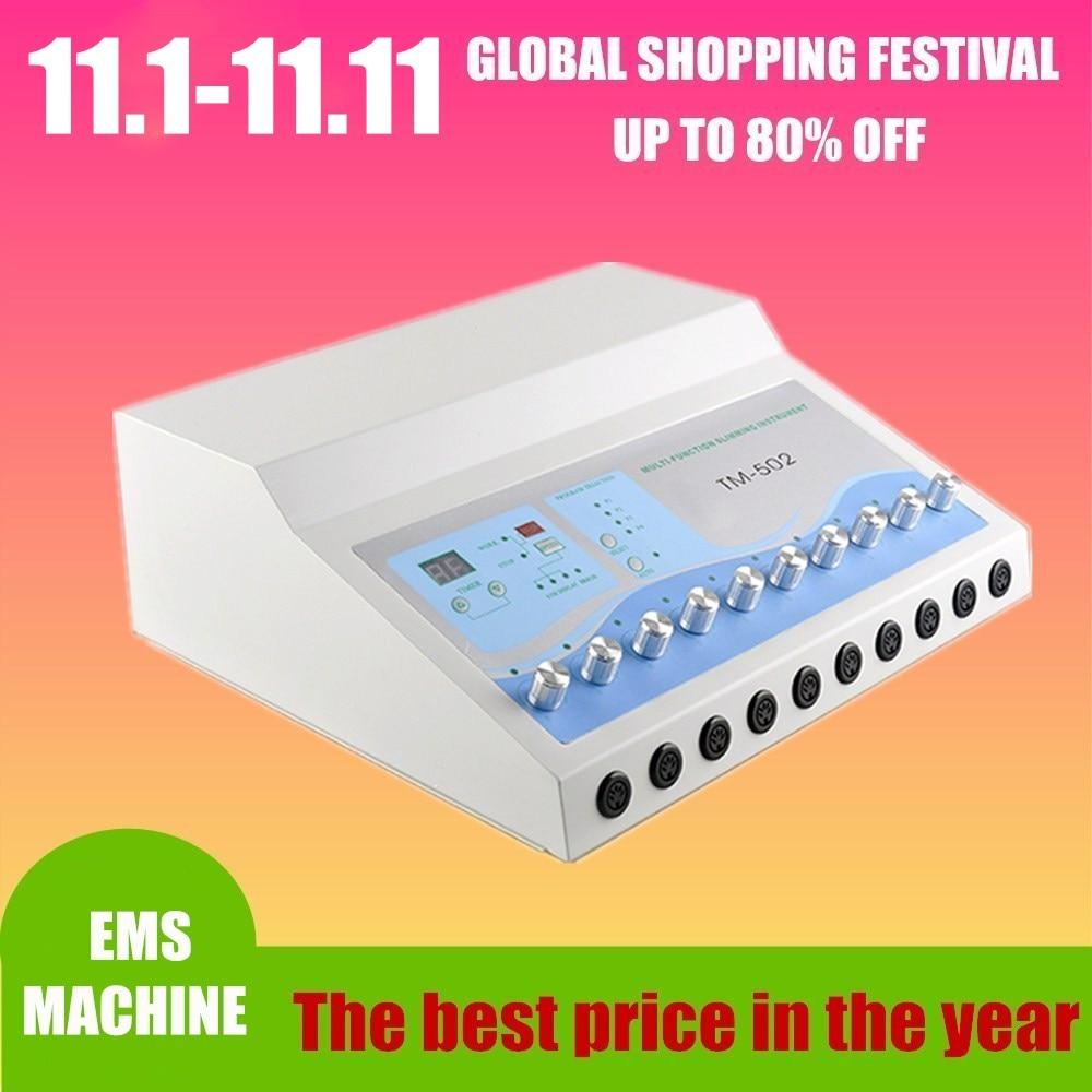 TM 502 Weight Loss machine ems muscle stimulator Electrostimulation Machine/ Russian Waves ems Electric Muscle Stimulator
