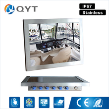 """15""""Ip67 waterproof embedded panel pc with intel j1900 2.0GHz industrial tablet pc 3usb/rs232/wifi Resistive touch 1024×768"""