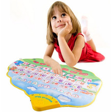 Children early education Learning Mat  Funny Alphabet Russian Language Toy Phonetic Sound Carpet ABC
