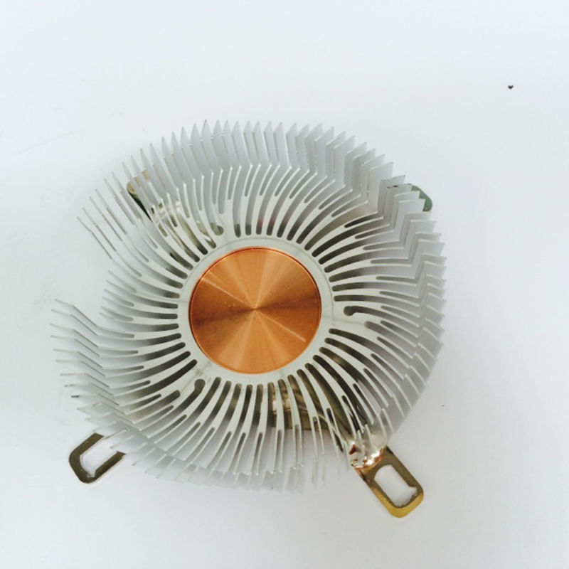 Image 4 - DIY CPU Heatsink 87.2*85.2*24.5mm Pure aluminium heat sink radiator for LED light COOLER cooling Cpu copper core radiator-in Fans & Cooling from Computer & Office