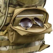 Уличная Военная Тактическая многофункциональная сумка на пояс EDC облегченная модульная система переноски снаряжения инструмент молния поясная сумка-аксессуар 1000D прочный ремень Pouch2
