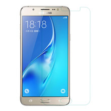 2PCS Screen Protector For Samsung J7 2016 Tempered Glass For Samsung Galaxy J7 2016 J710 J710F  Phone Film For Samsung J7 2016 все цены