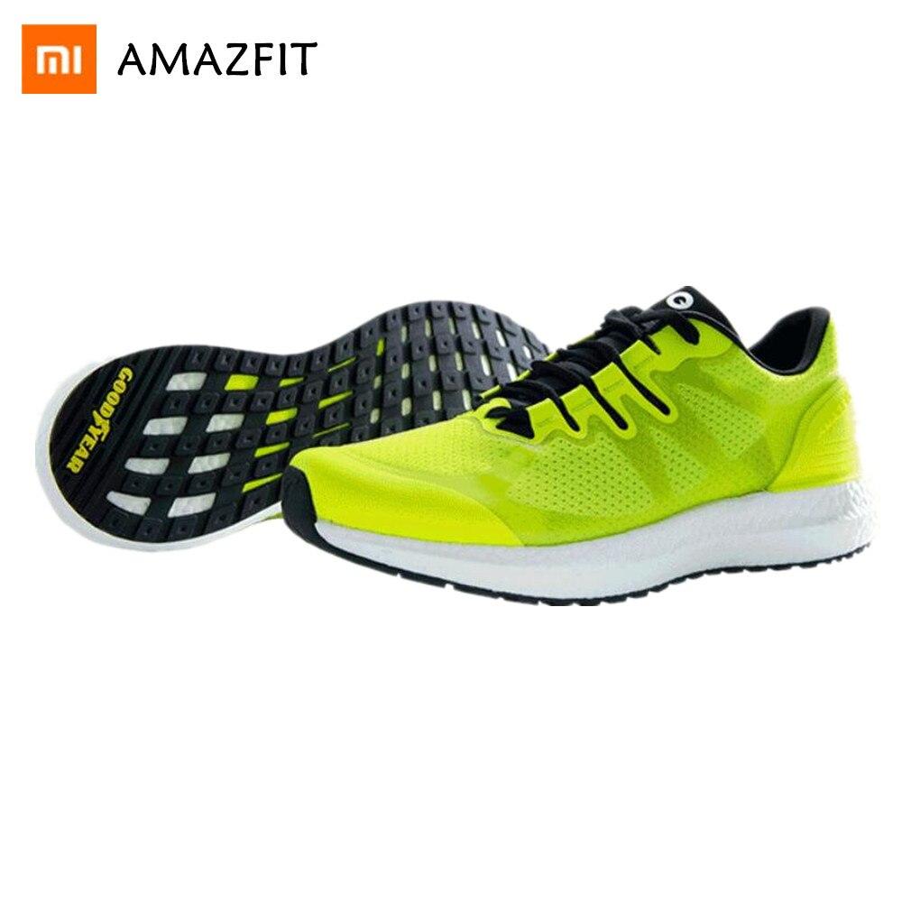Xiaomi Amazfit Marathon formation baskets chaussures de sport léger respirant soutien Stable pour hommes femmes chaussures de sport livraison directe