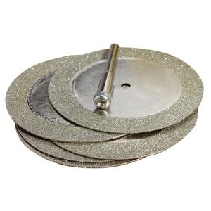 Image 3 - 로타리 공구 유리 금속을위한 5pcs 50mm 다이아몬드 커팅 디스크 및 드릴 비트