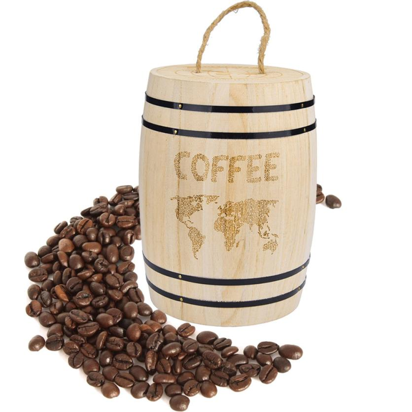 Fresh Coffee Bean Wooden storage containers Airtight Container Portable Wooden containers For Coffee Beans Grounds 5O0614 Coffee Bean Storage The  Best Coffee Storage Containers Of  How To Store Coffee Home Grounds
