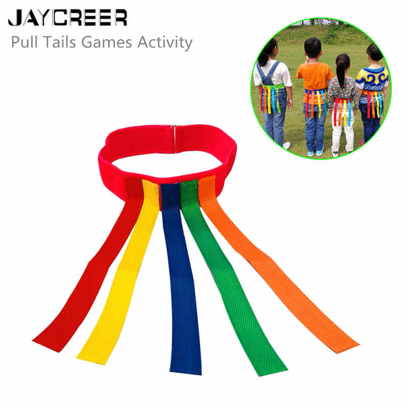 JayCreer Children Educational Vests Pull Tail Game Vest Waistcoat Game Tactical Vest For Kids