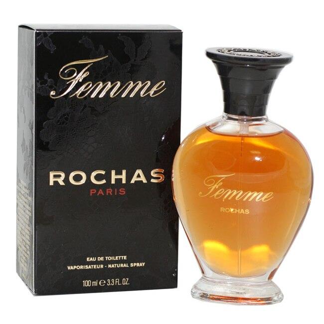 Femme Rochas Perfume By Rochas For Women Eau De Toilette Spray 3.4 Oz / 100 Ml eau sensuelle by rochas for women eau de toilette spray 3 3 oz 100 ml