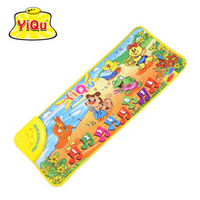 Touch Play Keyboard Mats 28*72cm Animals Dance Baby Music Carpet Play Crawl Rugs Developing Mat Educational Toys for Kids