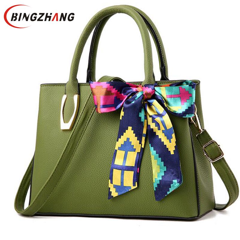 Women Leather Handbags Hot Medium Shoulder Bags Luxury Women Messenger Bag Famous Brands Female Tote Women Handbag Bolsa  L8-80 zobokela women messenger bags female 2018 crossbody bags for women leather handbags women shoulder bags famous brands bolsa