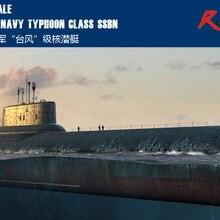 RealTS Hobby Boss 83532 1/350 русский ВМС Тайфун класс SSBN пластиковая модель комплект hobbyboss трубач