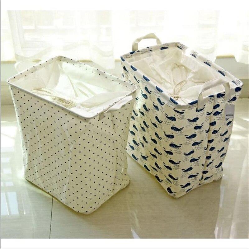 bagno pieghevole cestini di lavanderia per i vestiti sporchi cestelli per i giocattoli snack banda