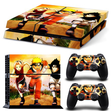 Naruto Design PS4 Skin Sticker Game Accessories Decal Vinyl Controllers Skins For Sony Playstation 4 Console