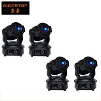 4pcs Lot Free Shipping DMX512 60W LED Spot Moving Head Light Luminus 2 Gobo Wheel FOCUS