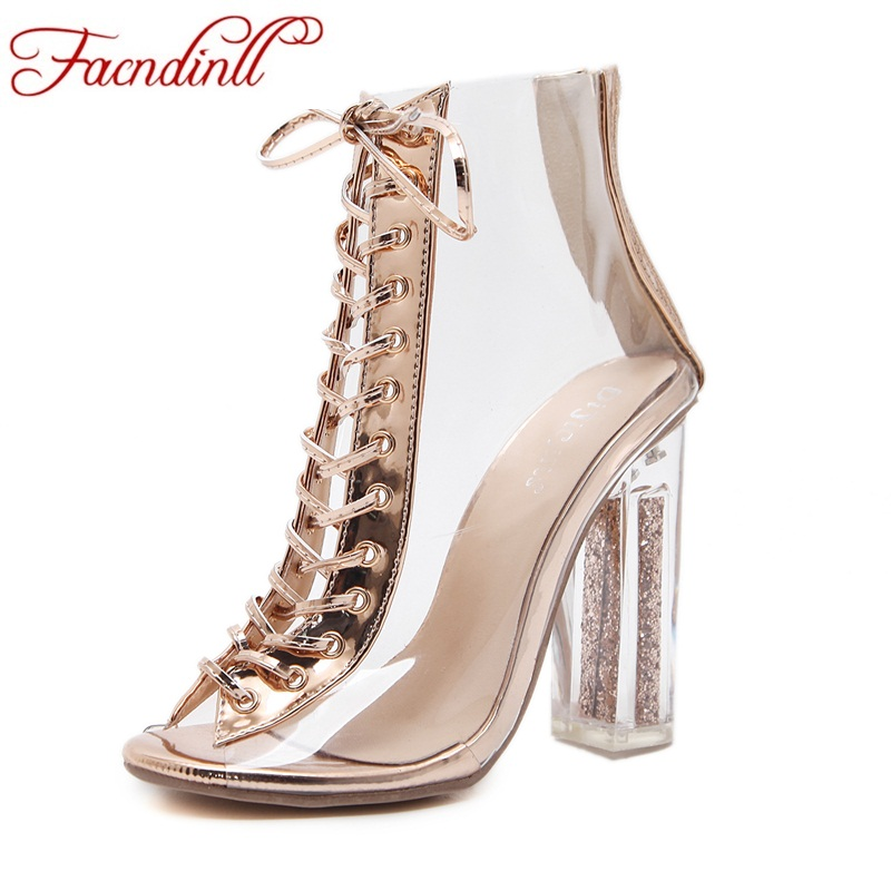 FACNDINLL fashion women ankle boots new sexy high heels peep toe rome style shoes woman dress party wedding shoes short plush facndinll women ankle boots new fashion autumn winter genuine leather high heels lace up shoes woman dress party short boots
