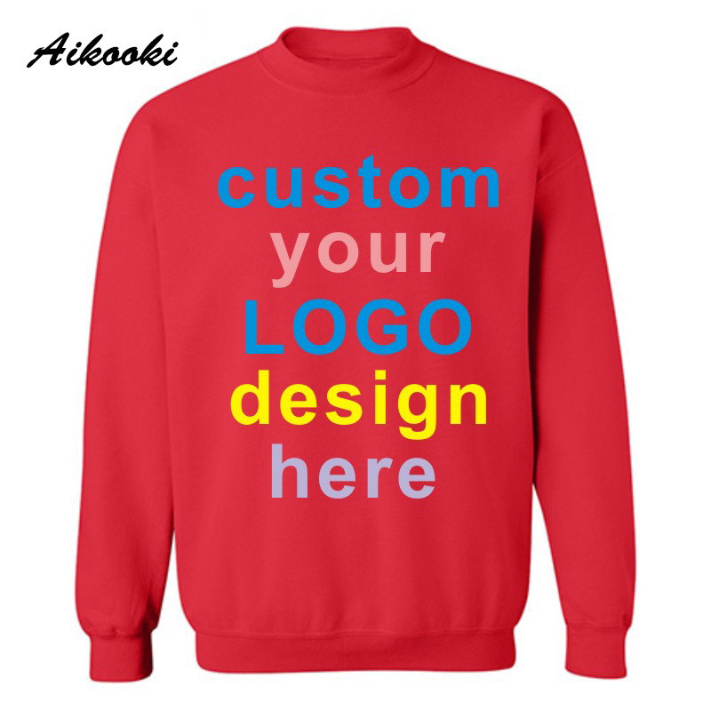 Youth Hoodie Hooded Sweatshirt Any Size with a custom print with text