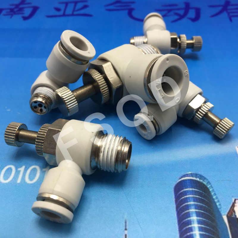 SL4-01 SL4-02 SL4-M5 SL4-M3 Airtac konektörü. Ortak, pnömatik komponentler L tipi gaz vana, stok var SL serisi