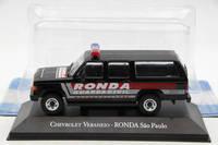 IXO Altaya 1:43 Chevrolet Veraneio Ronda Sao Paulo toys Car Diecast Models Limited Edition Metal Auto Collection