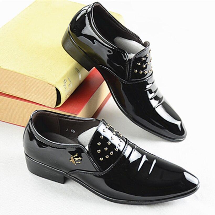 Meizi Мужские кожаные туфли Повседневное 2018 Осенняя модная обувь для Для мужчин Дизайнерская обувь Повседневное дышащая Для мужчин Sdress Обувь …