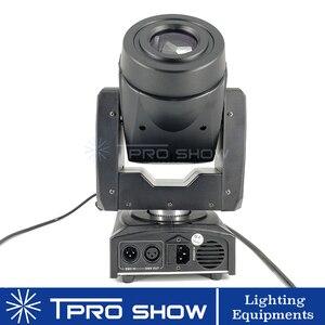 Image 4 - Mini cabezal móvil 90W Spot Lira LED Disco luz prisma efecto de haz DMX512 Control Gobo proyector Dj luces música en movimiento reacción