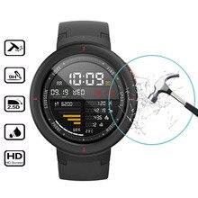 Для Huami Amazfit 3 Защитная пленка из закаленного стекла для Xiaomi Huami Amazfit Verge 3 Smart Watch Защитная стеклянная пленка