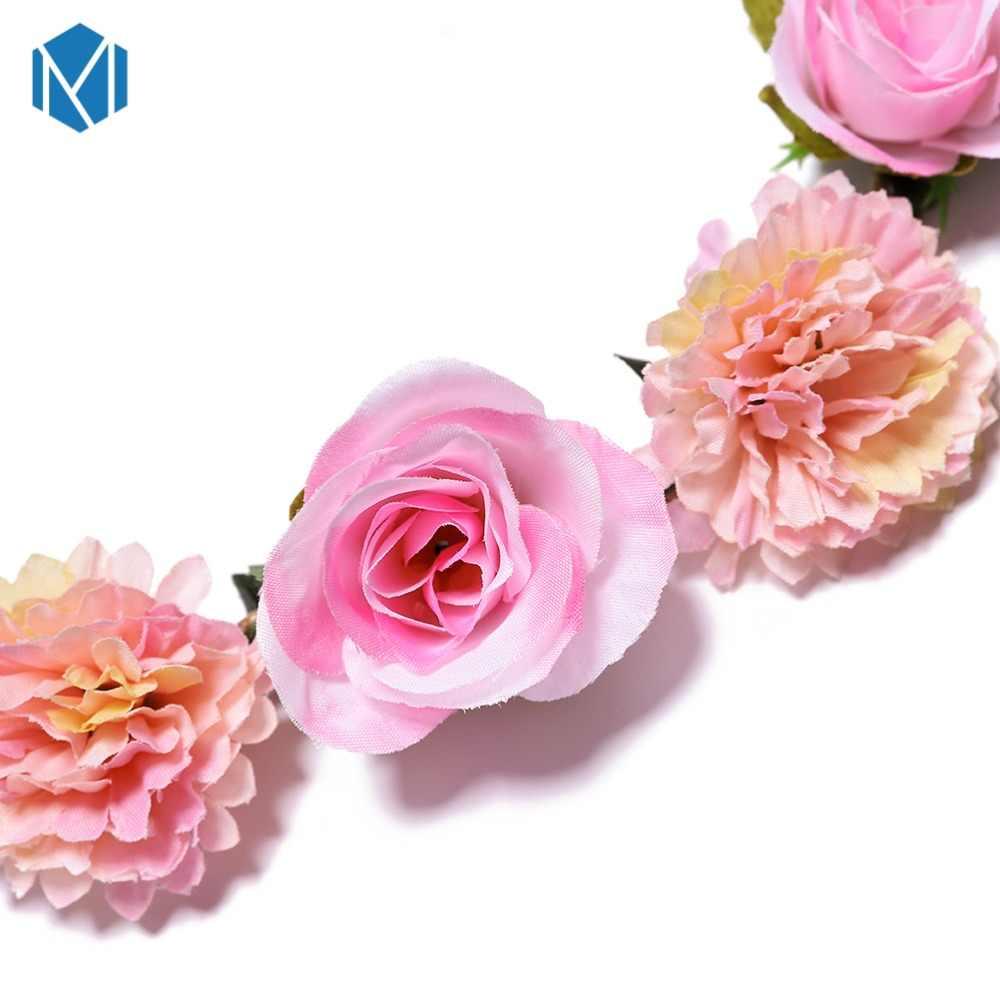 2019 венок из роз Galand для женщин девочек аксессуары для волос невесты деликатный узор повязка для волос Haarbanden voor vrouwen