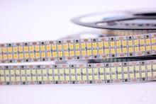 1/2/3/4/5 м Светодиодная лента 2835 240 светодиодов/м 480 светодиодов/м 12 В постоянного тока Высокая яркость 2835 гибкая светодиодная лампа теплый белый/белый 5 м/лот