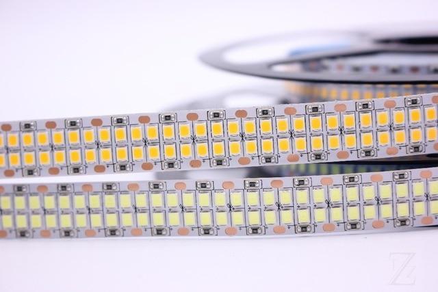 1/2/3/4/5 m LED רצועת 2835 240 נוריות/m 480 נוריות/ m DC12V גבוהה בהירות 2835 גמיש LED אור חם לבן/לבן 5 מטר\חבילה