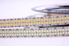Bande Flexible 1/2/3/4/5M LED 2835 240 s/m LED 480 s/m LED s/M, DC12V, haute luminosité 2835, blanc chaud/blanc, 5 m/lot