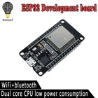 ESP32 Development Board WiFi and Bluetooth Ultra-Low Power Consumption Dual Core ESP-32 ESP-32S ESP 32 Similar ESP8266