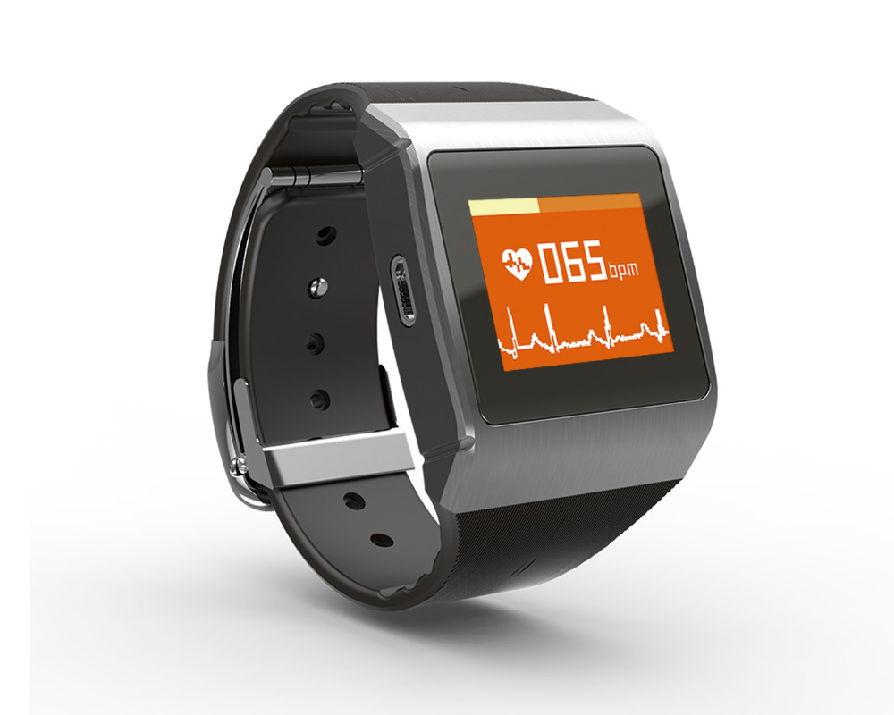 CMS50K Indossabile SpO2/ECG Monitor Senza Fili di Bluetooth Smart Monitor di CalorieCMS50K Indossabile SpO2/ECG Monitor Senza Fili di Bluetooth Smart Monitor di Calorie