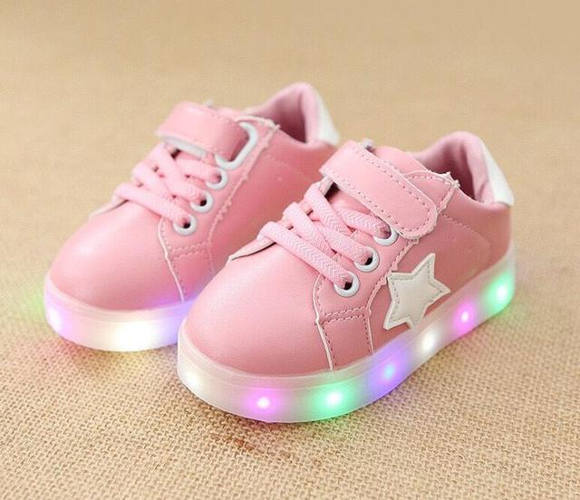 Quality Male and Female Leather Sneaker for Kids
