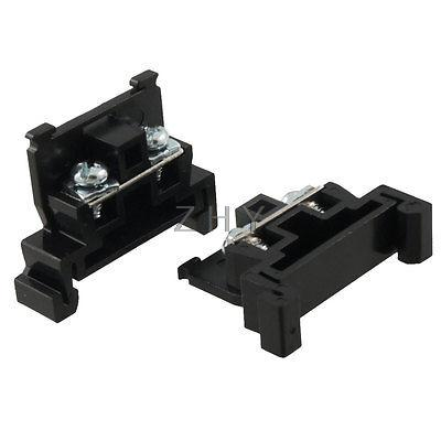 5 Pcs DIN Rail Mount Screw Terminal Block Wire Connector 600V 20A fqpf20n60c 20n60c 20a 600v to 220f
