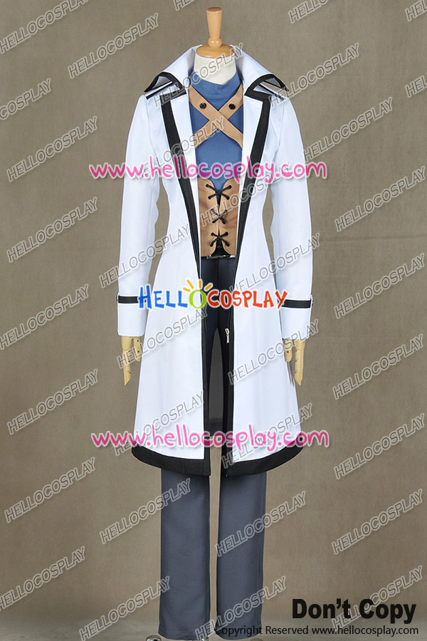 Fairy Tail Cosplay Wizard Gray Fullbuster Costume Uniform H008
