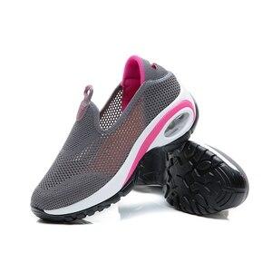 Image 2 - STQ 2020 סתיו נשים סניקרס דירות נעלי רשת להחליק על Tenis Feminino גבירותיי פלטפורמת נעליים יומיומיות Creeper Mocassin אישה 108