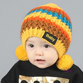 2016 Winter Soft Baby Hat Knitted High Quality Baby Boys Girls Size 45-50cm Suit to 6-36months