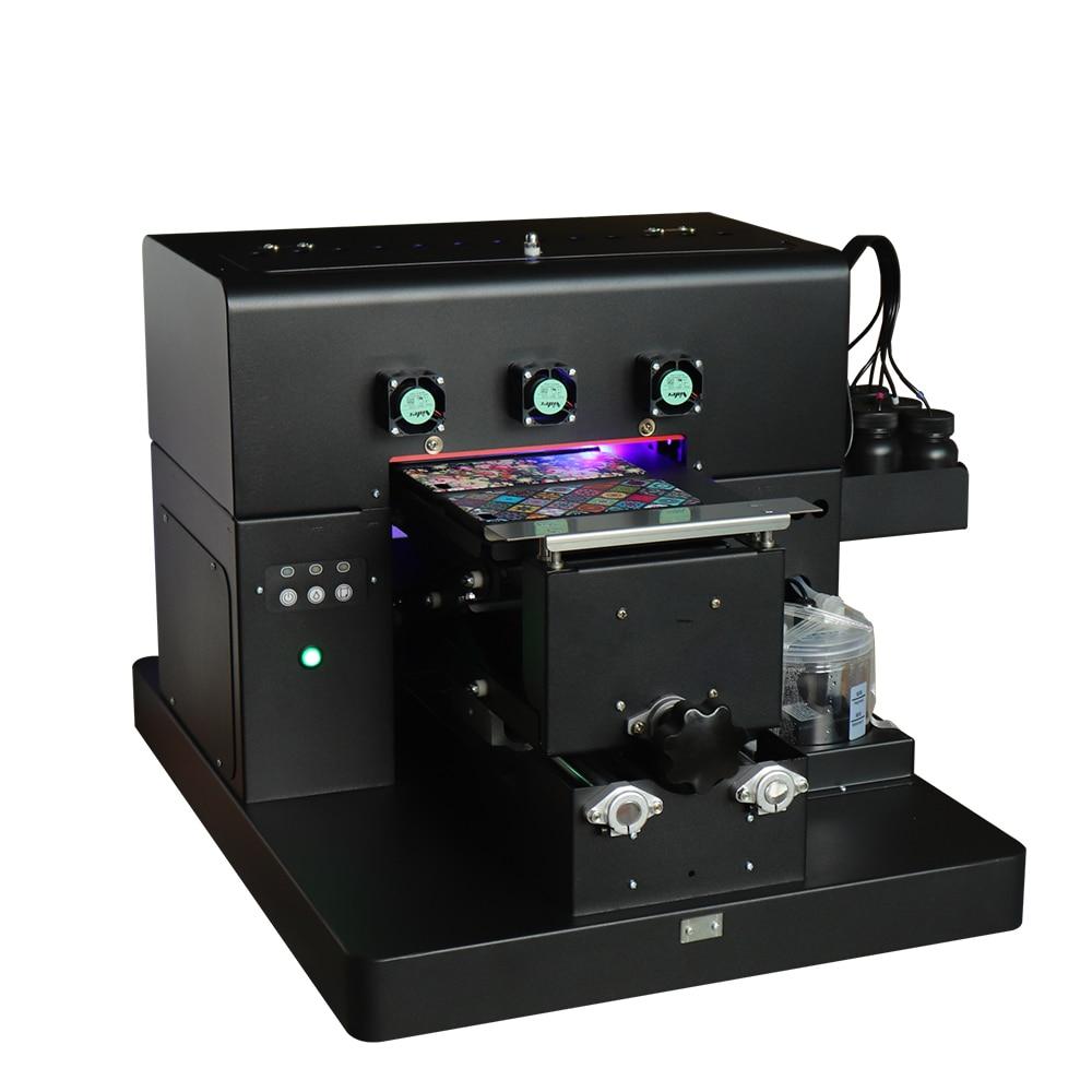 A4 kleinformaat UV-led flatbed printer inkjetprinters met 1 set - Office-elektronica - Foto 4