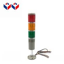 Диаметр 50 мм Мульти-Слои красного цвета с открытыми пальцами; цвета оранжевый, зеленый, светящаяся башня MA50-3W-D-J с зуммером DC12v 24 v 36 v AC110v 220 v